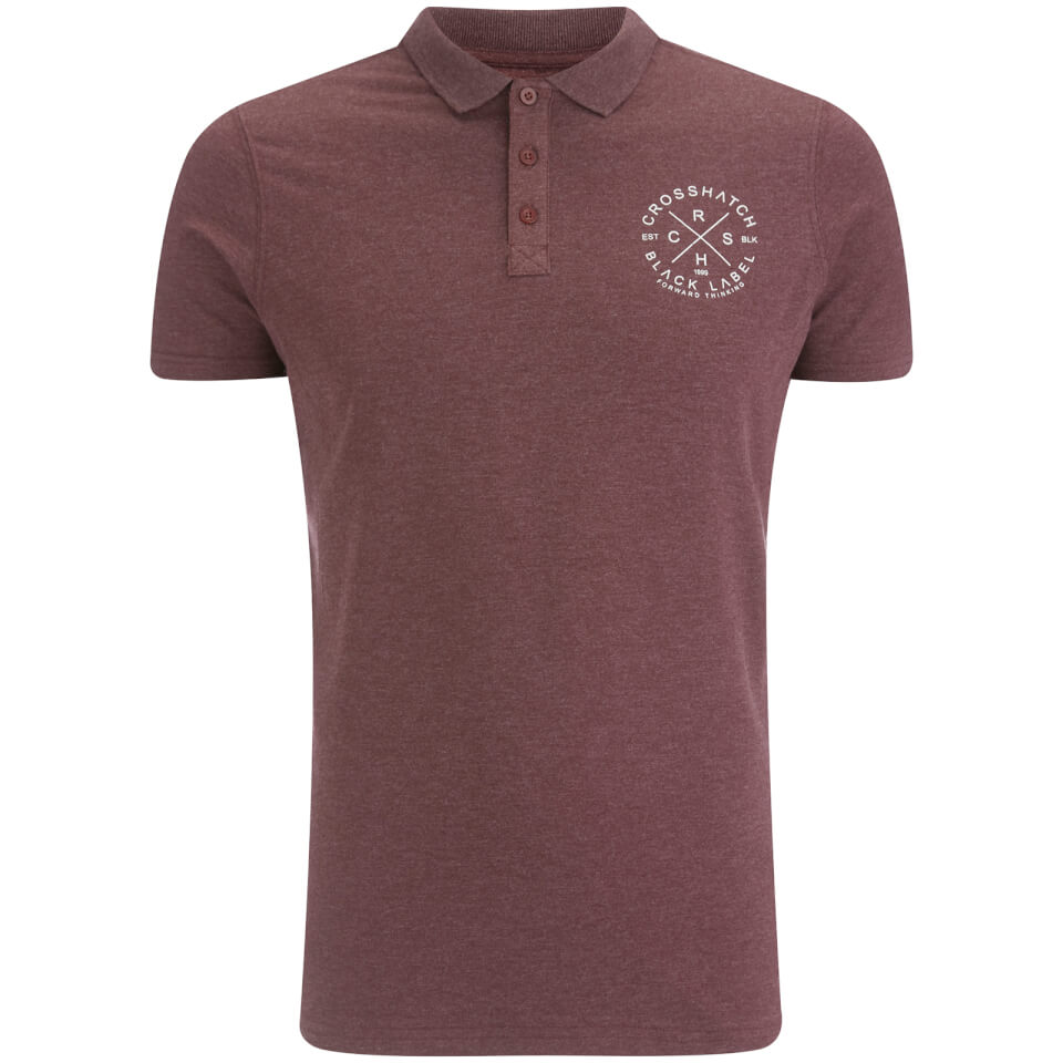 crosshatch-men-cultize-stamp-polo-shirt-deep-red-marl-l