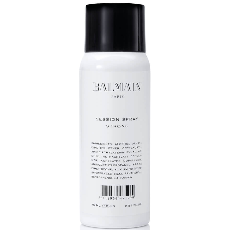 Hair Spray  Session Strong Travel Size Balmain Hair (50 ml)