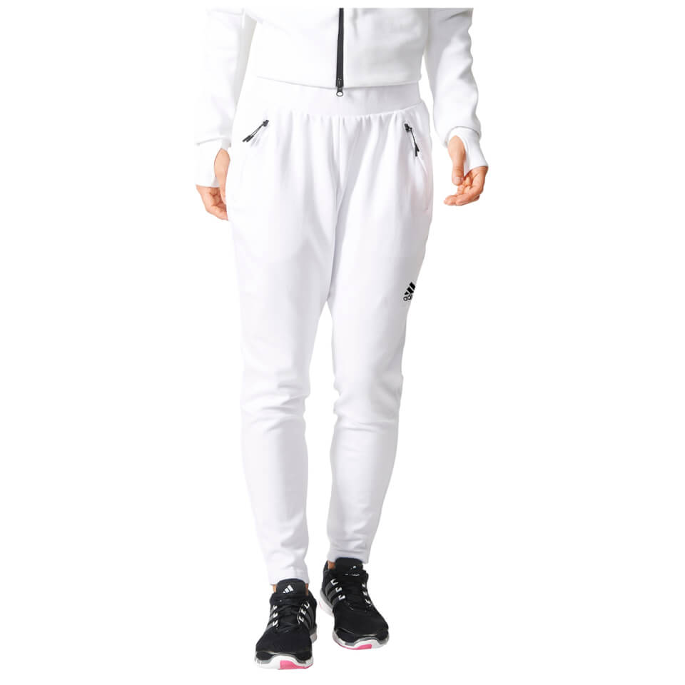 adidas-women-zne-tapered-training-pants-white-l