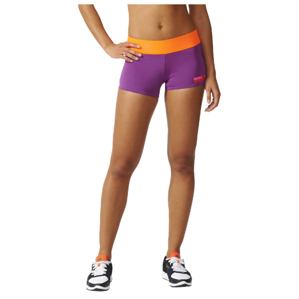 adidas-women-stella-sport-workout-training-shorts-purple-l