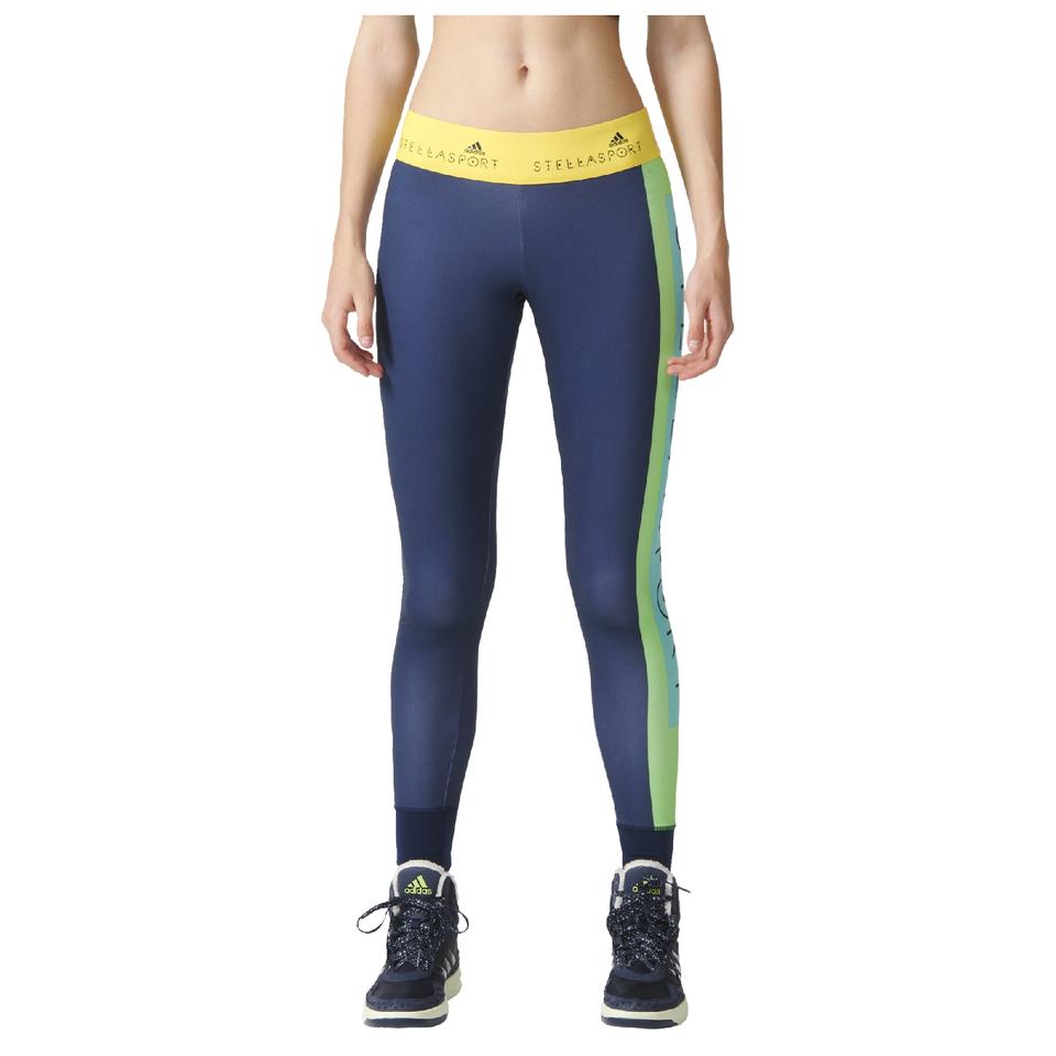 adidas-women-stella-sport-logo-training-tights-blue-s