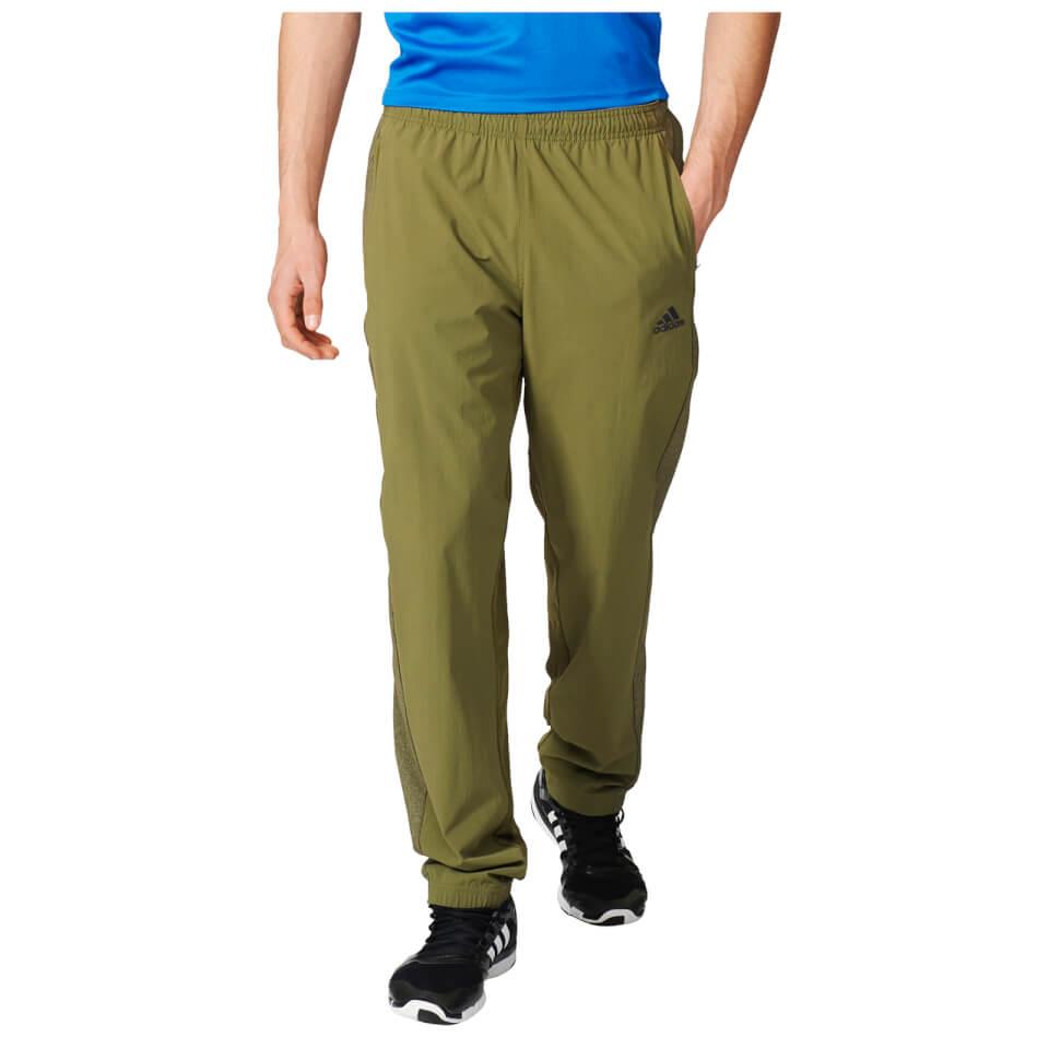 adidas-men-cool-365-training-pants-green-m-green