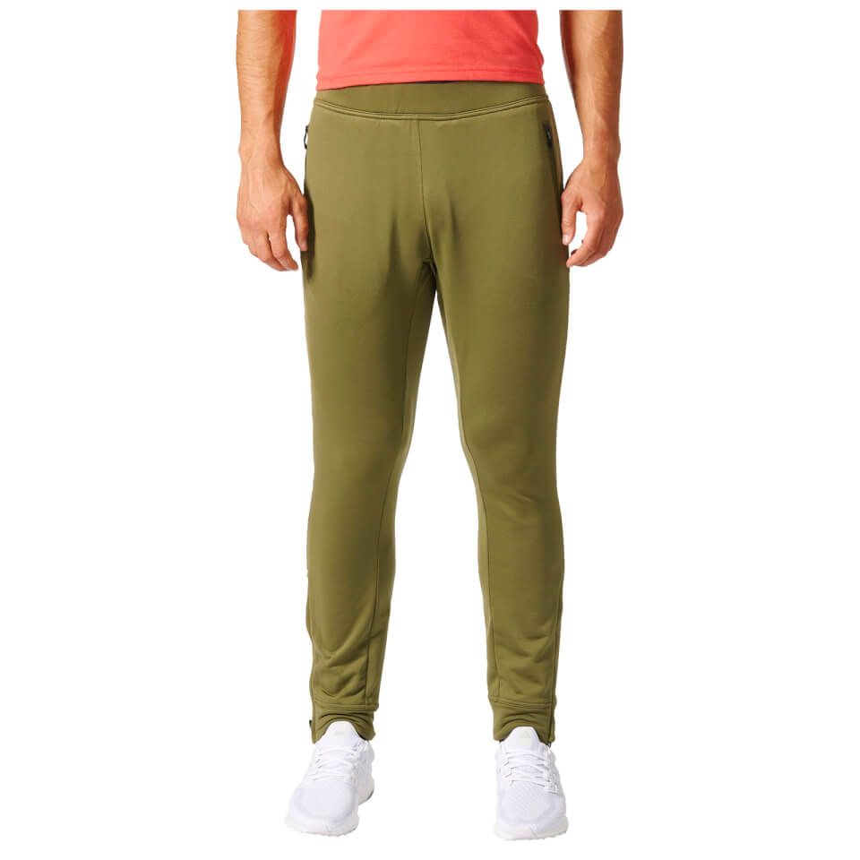 adidas-men-climaheat-training-pants-green-s