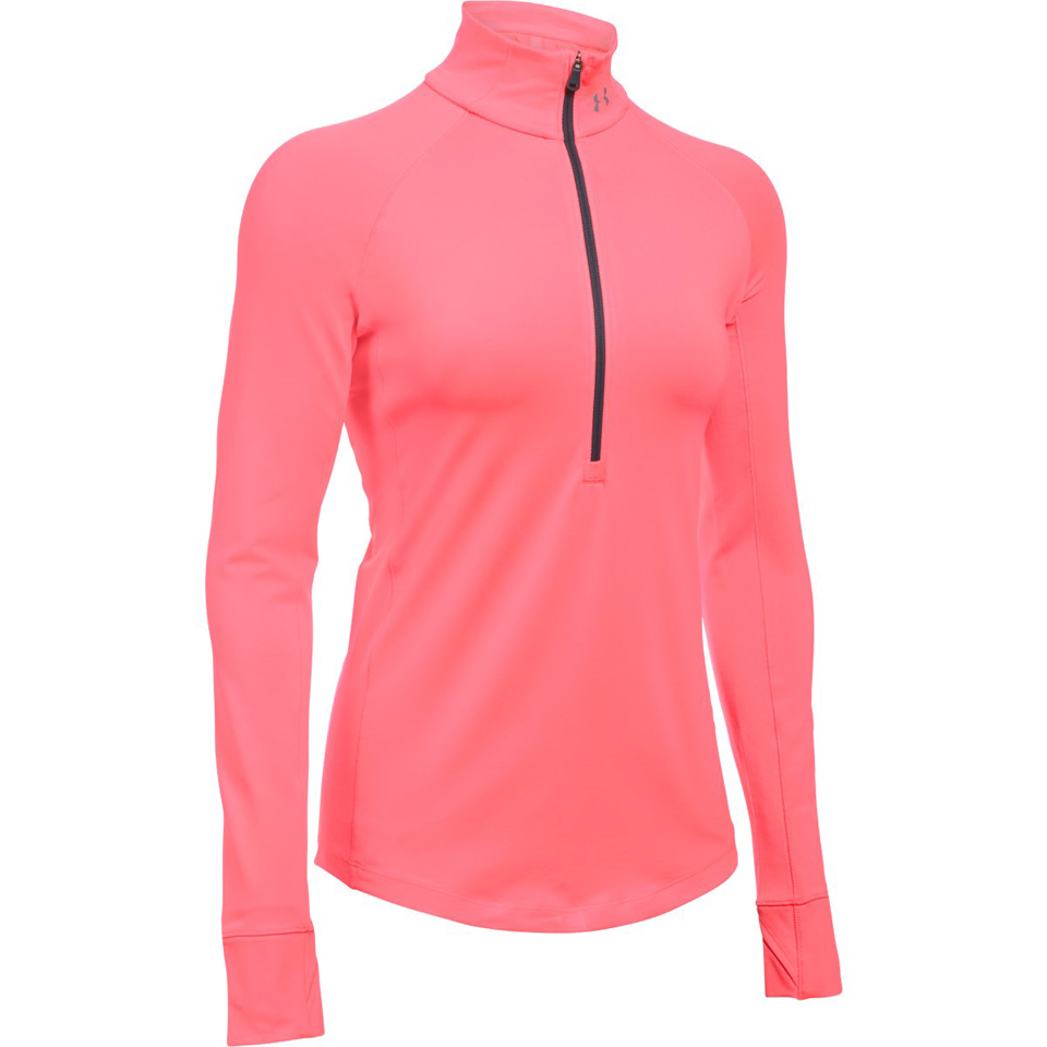 under-armour-women-coldgear-armour-12-zip-long-sleeve-shirt-brilliance-pink-xs