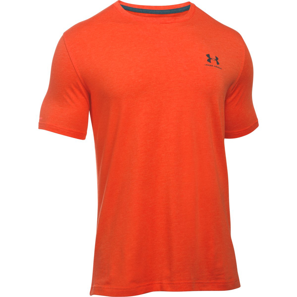 Under armour men 39 s sportstyle left chest logo t shirt for Teal under armour shirt