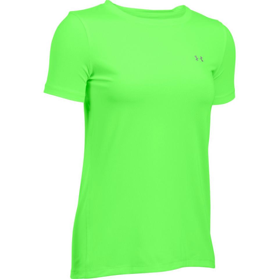 Under armour women 39 s heatgear armour short sleeve t shirt for Under armour half sleeve shirt