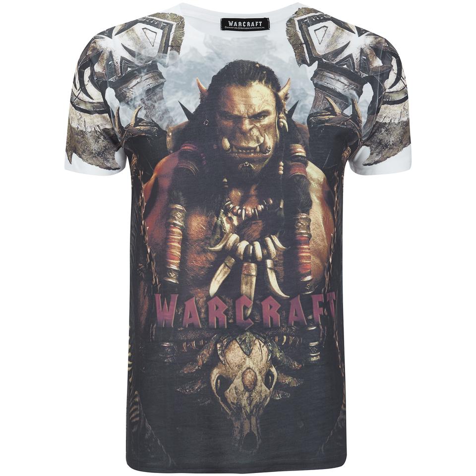 Warcraft Men's Durotan T Shirt White XL
