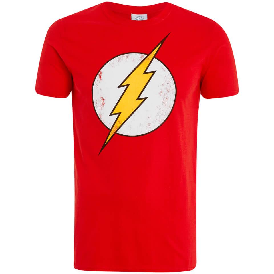DC Comics Men's Flash T Shirt Red XXL