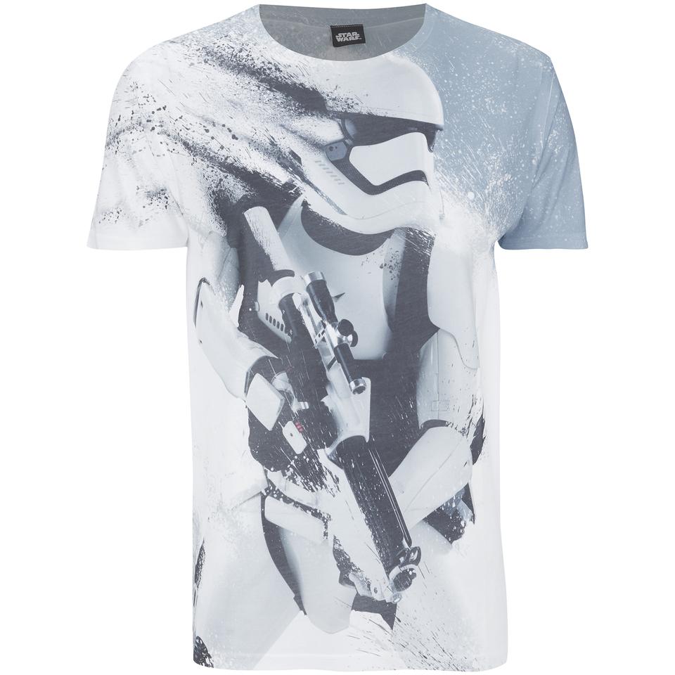 Star Wars Men's Stormtroopers T Shirt Grey L