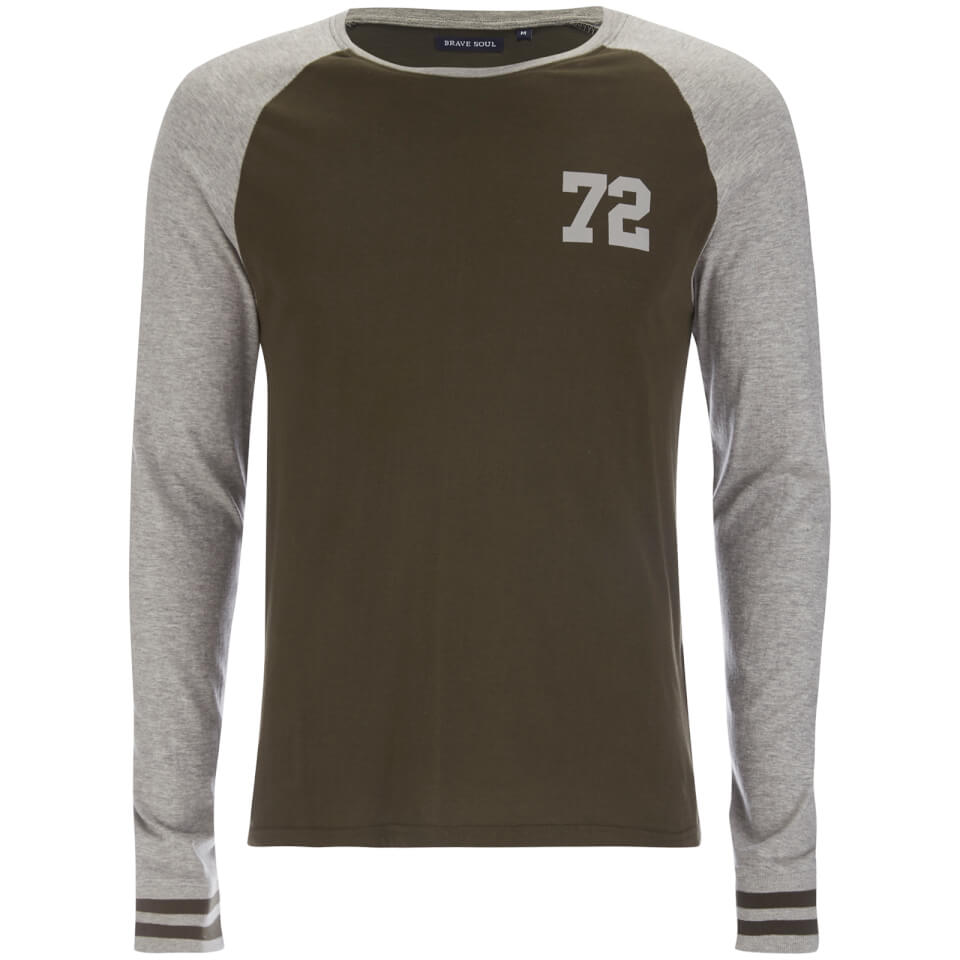 brave-soul-men-granite-raglan-long-sleeve-top-khaki-grey-marl-s