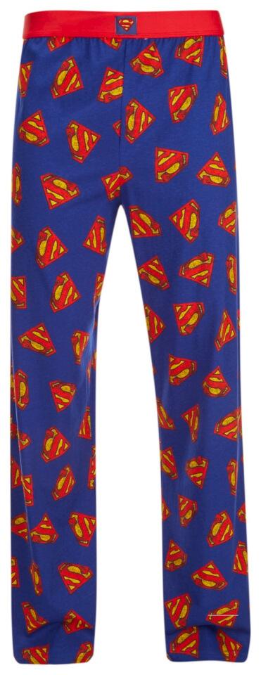DC Comics Superman Men's Logo Lounge Pants Blue L