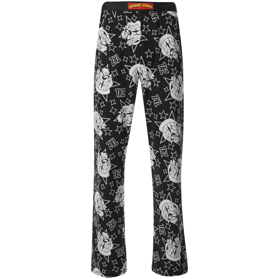 tasmanian-devil-men-lounge-pants-black-xl