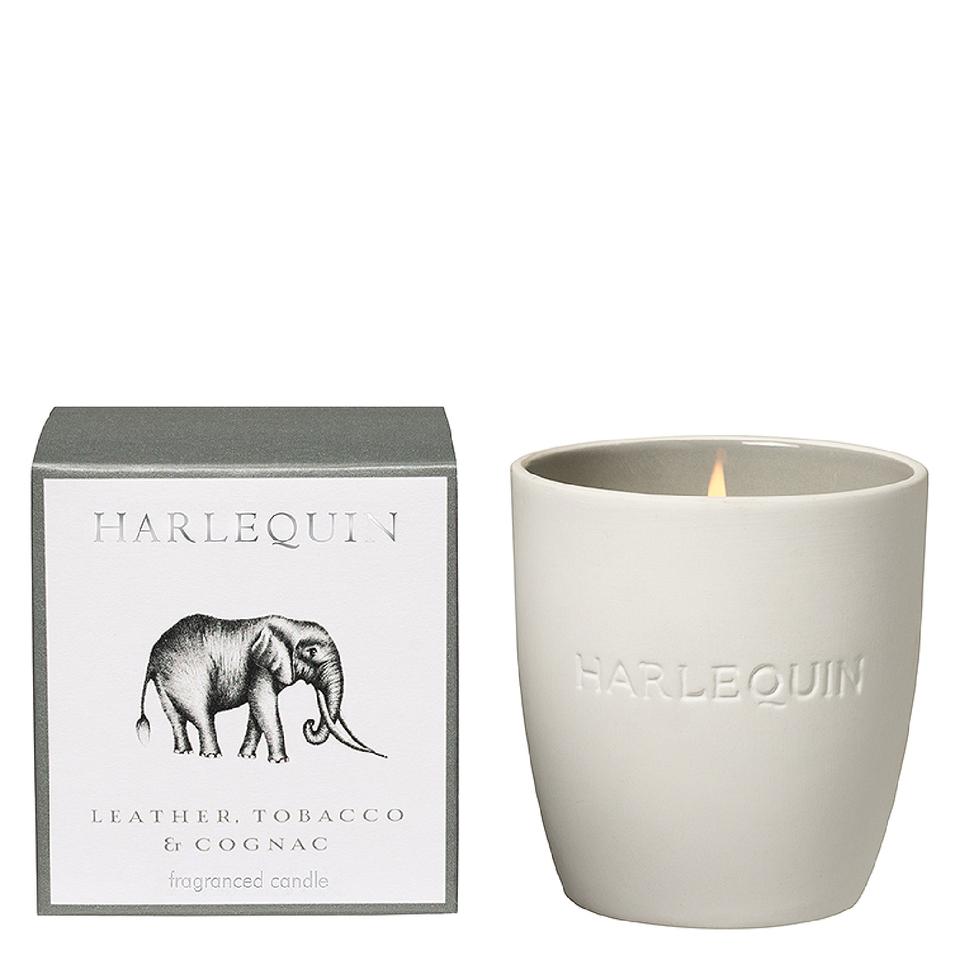 harlequin-savanna-leather-tobacco-cognac-tumbler-candle