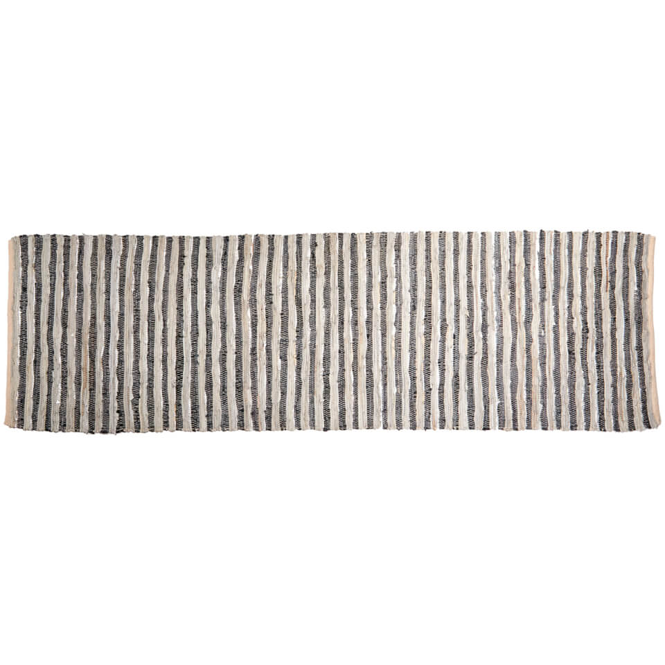 broste-copenhagen-nor-leather-cotton-rug-greysilver-80cm-x-250cm