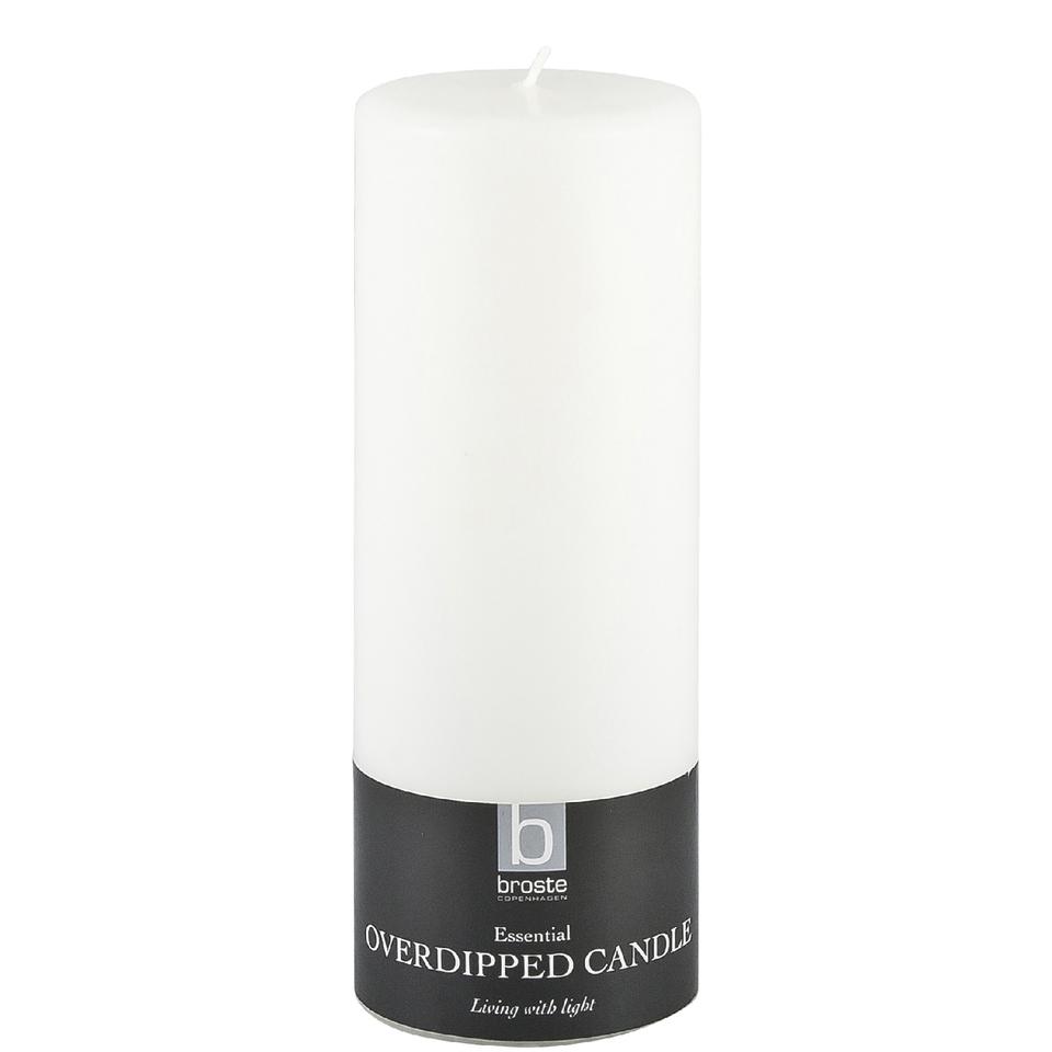 broste-copenhagen-pillar-candle-white-7cm-x-20-cm
