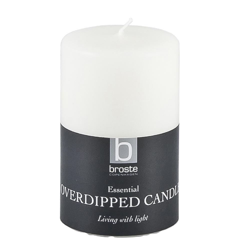 broste-copenhagen-pillar-candle-white-6cm-x-10cm