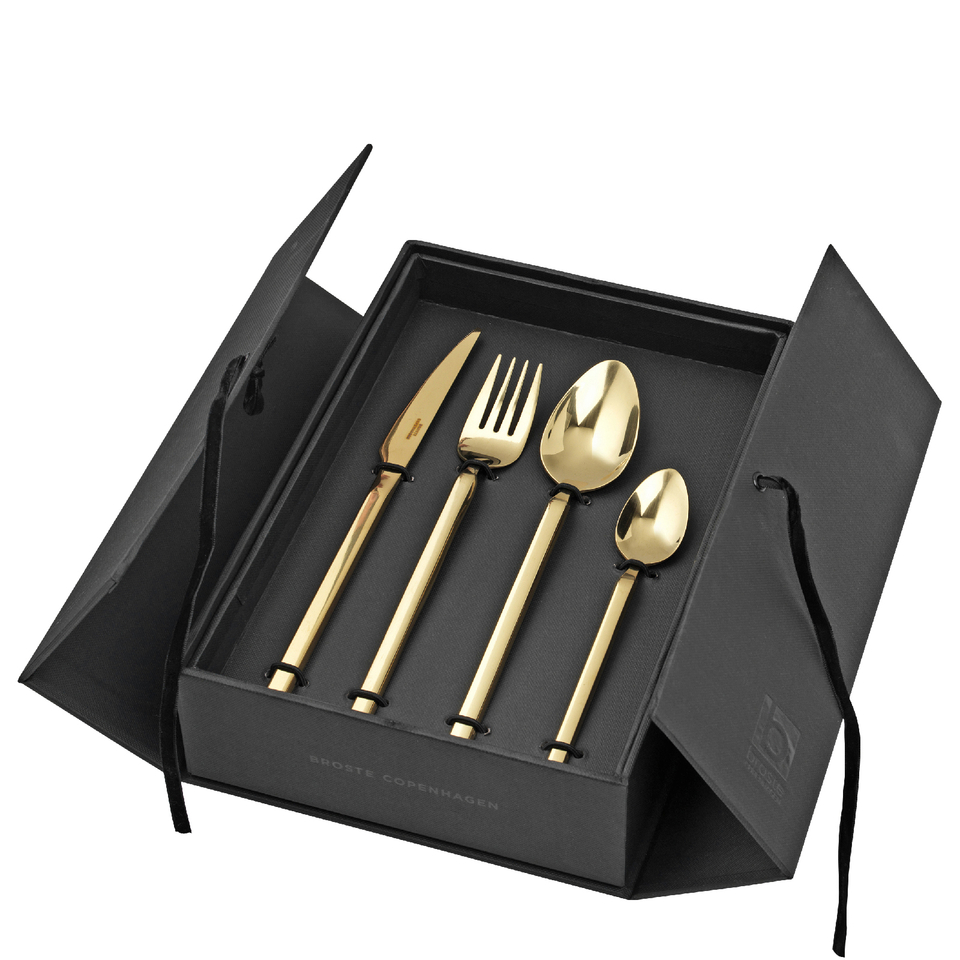 broste-copenhagen-tvis-gold-cutlery-set
