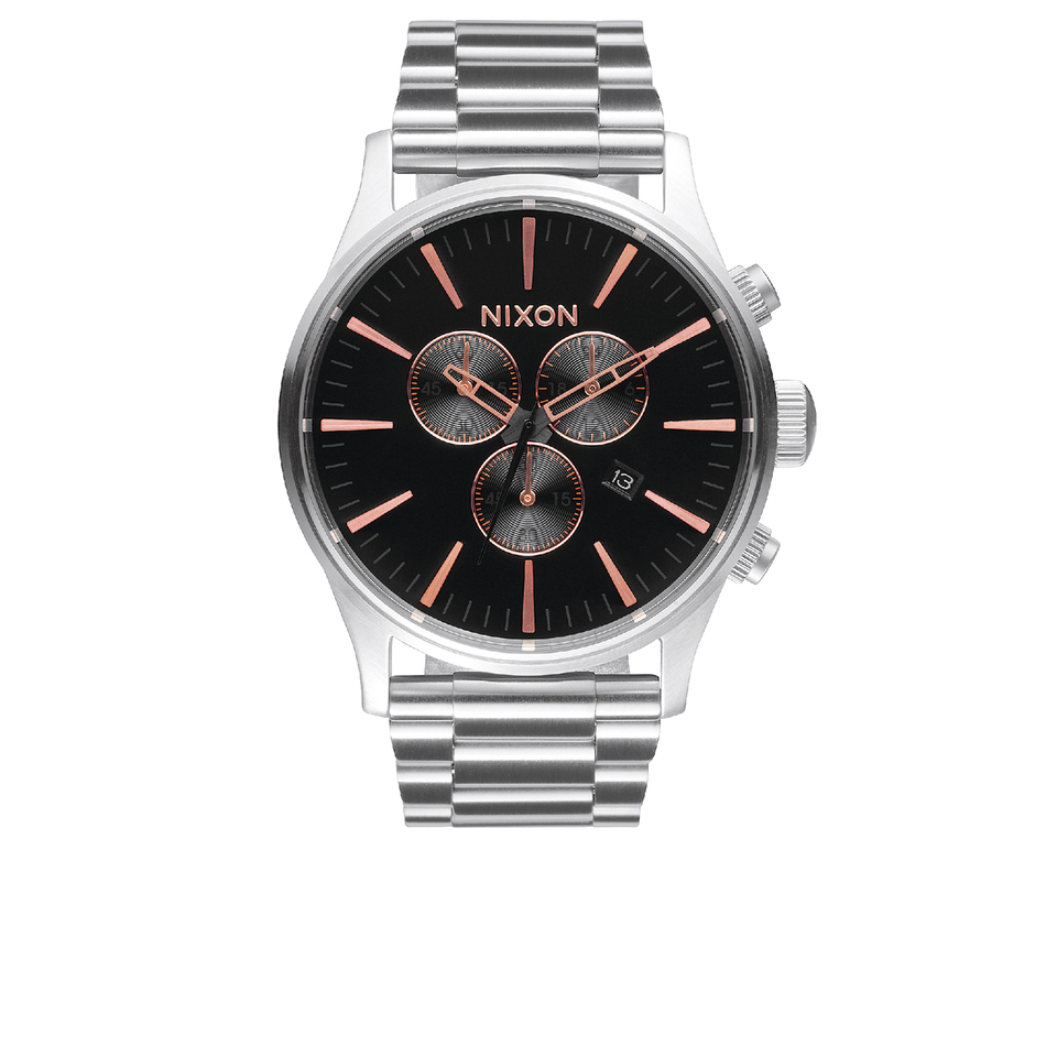 nixon-the-sentry-chrono-watch-grey-rose-gold