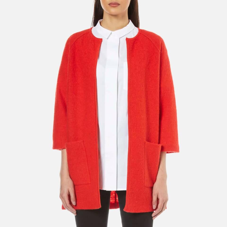 selected-femme-women-darla-34-knit-cardigan-flame-scarlet-xs-6