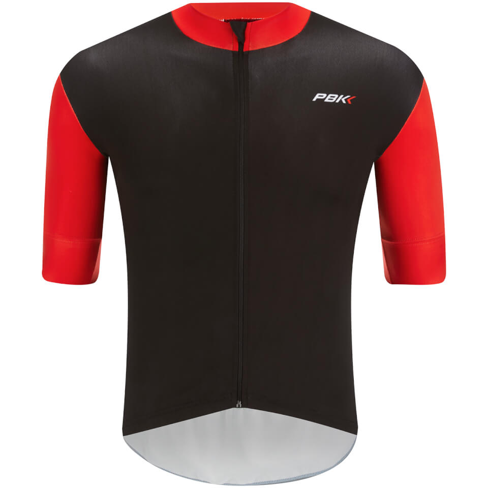 pbk-stelvio-water-repellent-short-sleeve-jersey-red-m-red