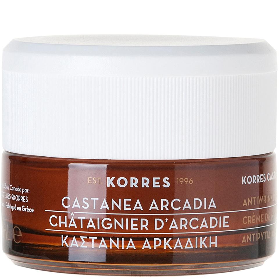 korres-castanea-arcadia-anti-wrinkle-firming-night-cream-40ml