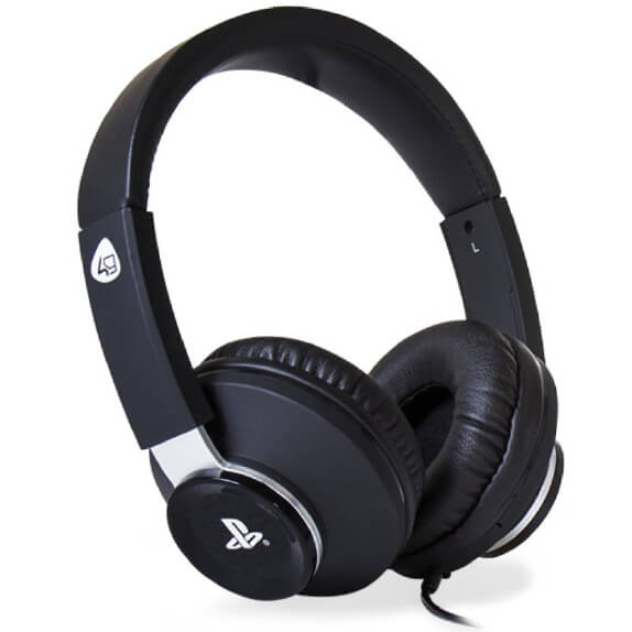 sony licensed pro4 60 stereo gaming headset black. Black Bedroom Furniture Sets. Home Design Ideas