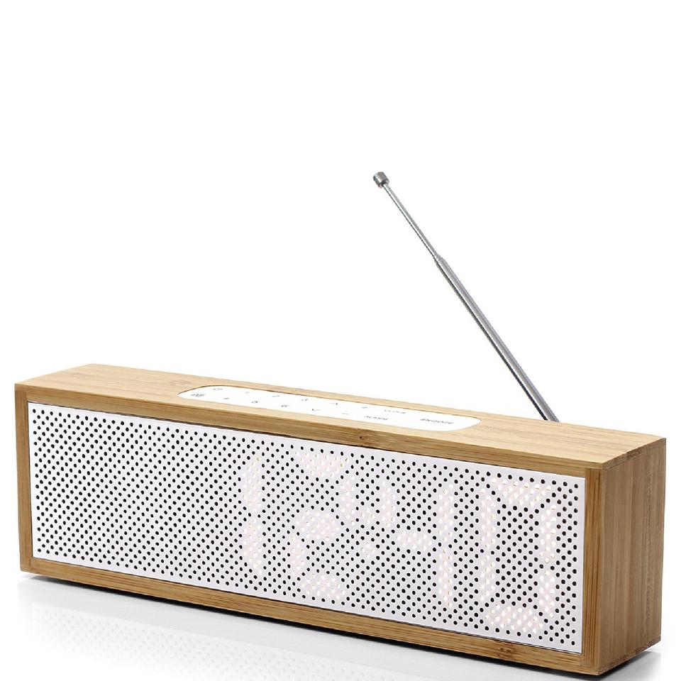 lexon-titanium-alarm-clock-bamboo