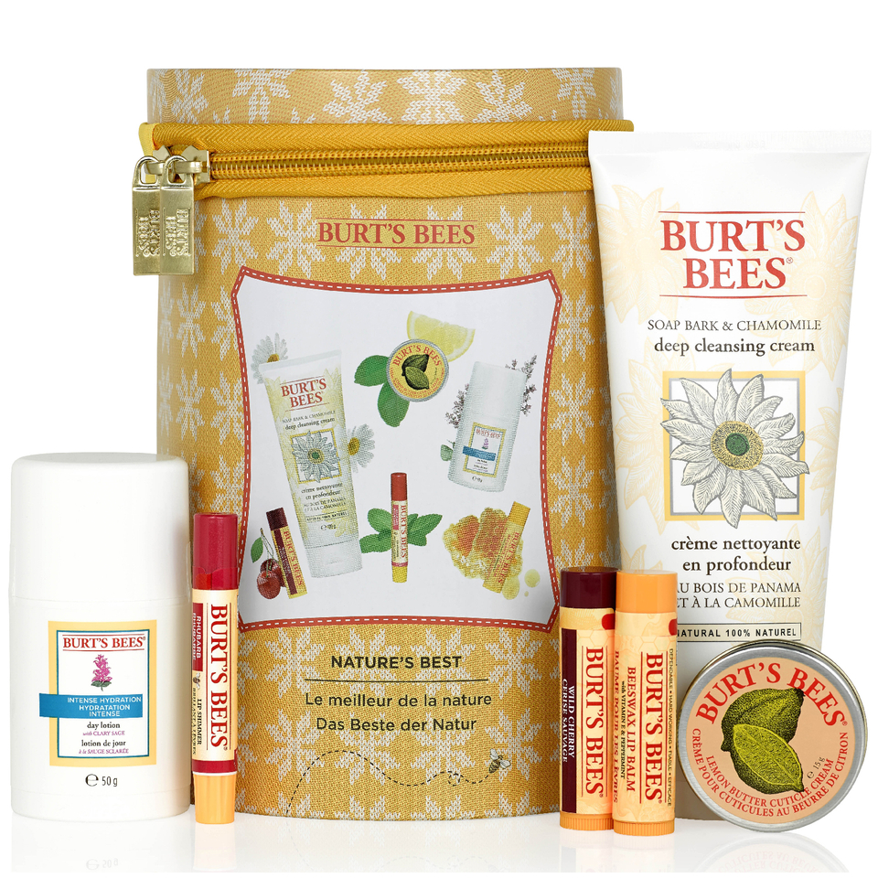 Buy Burt S Bees Nature S Best Beeswax Gift Set Worth 163 50