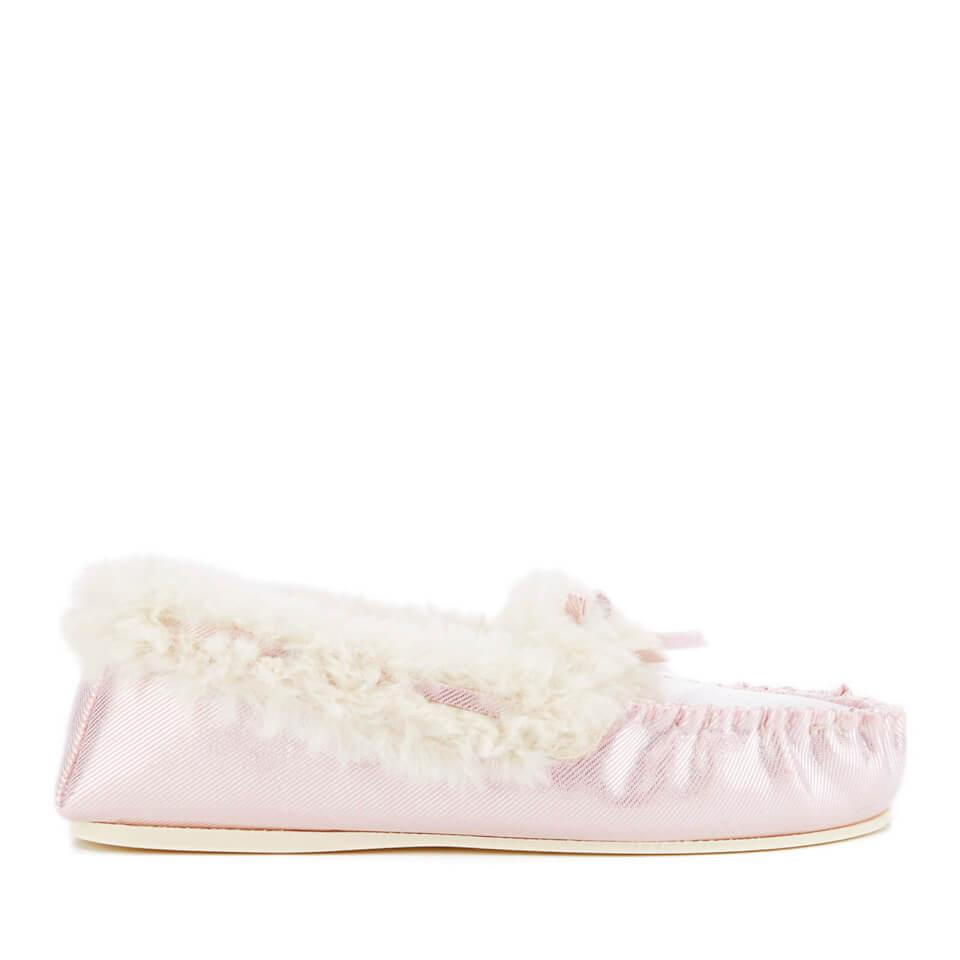 Zapatillas de casa Dunlop Amaline - Mujer - Púrpura - UK 3 - Púrpura