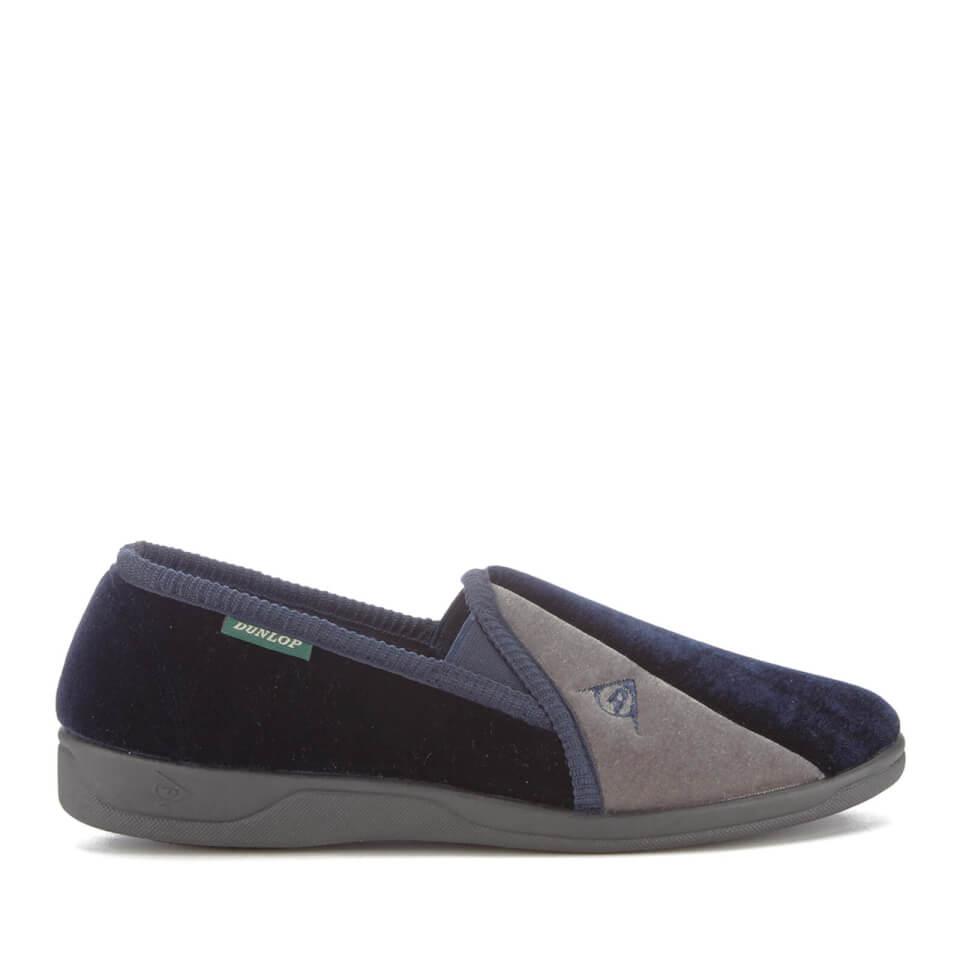 Zapatillas de casa Dunlop Duncan - Hombre - Azul marino - UK 10 - azul marino