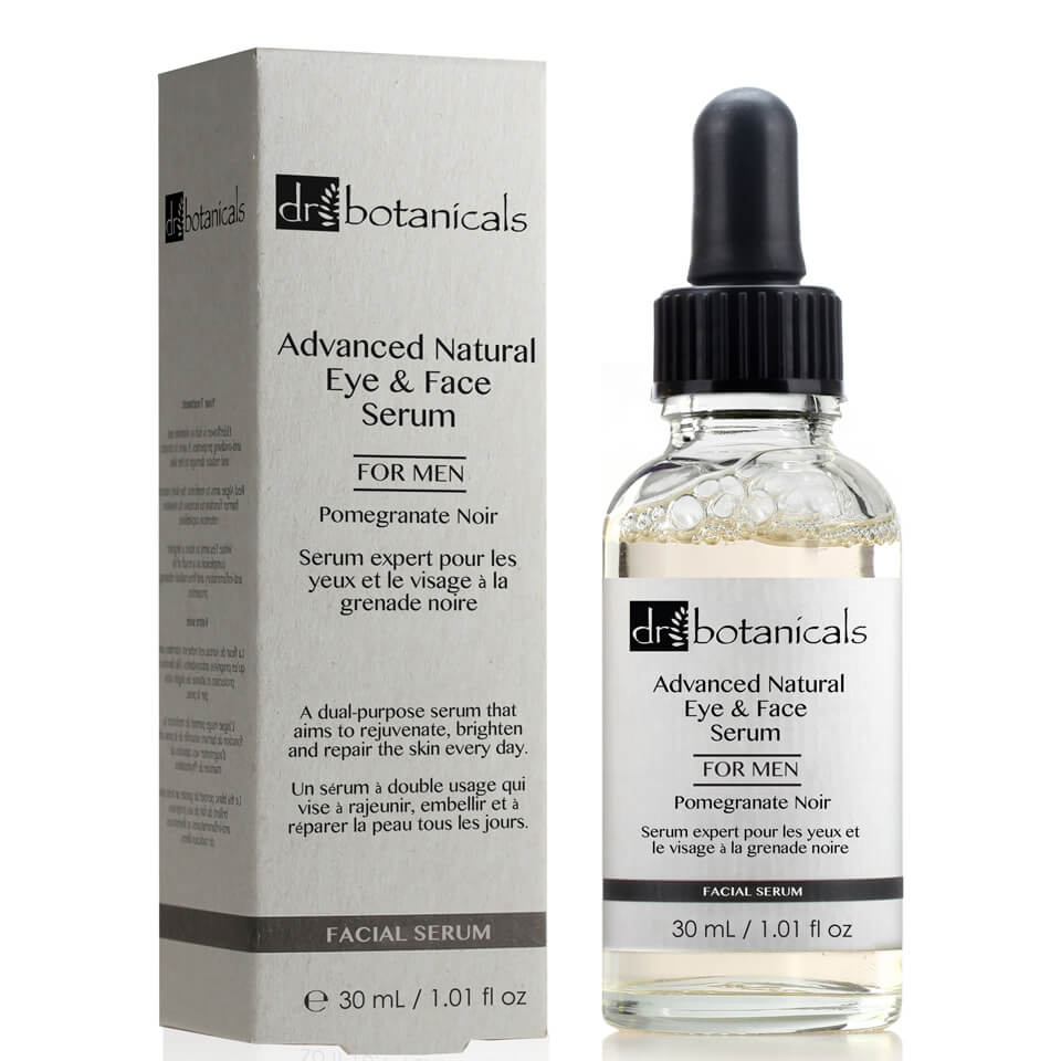 Dr Botanicals Pomegranate Noir Advanced Natural Eye & Face S