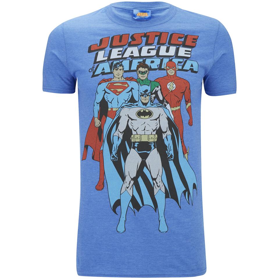DC Comics Herren Justice League T Shirt Blau XXL Blau