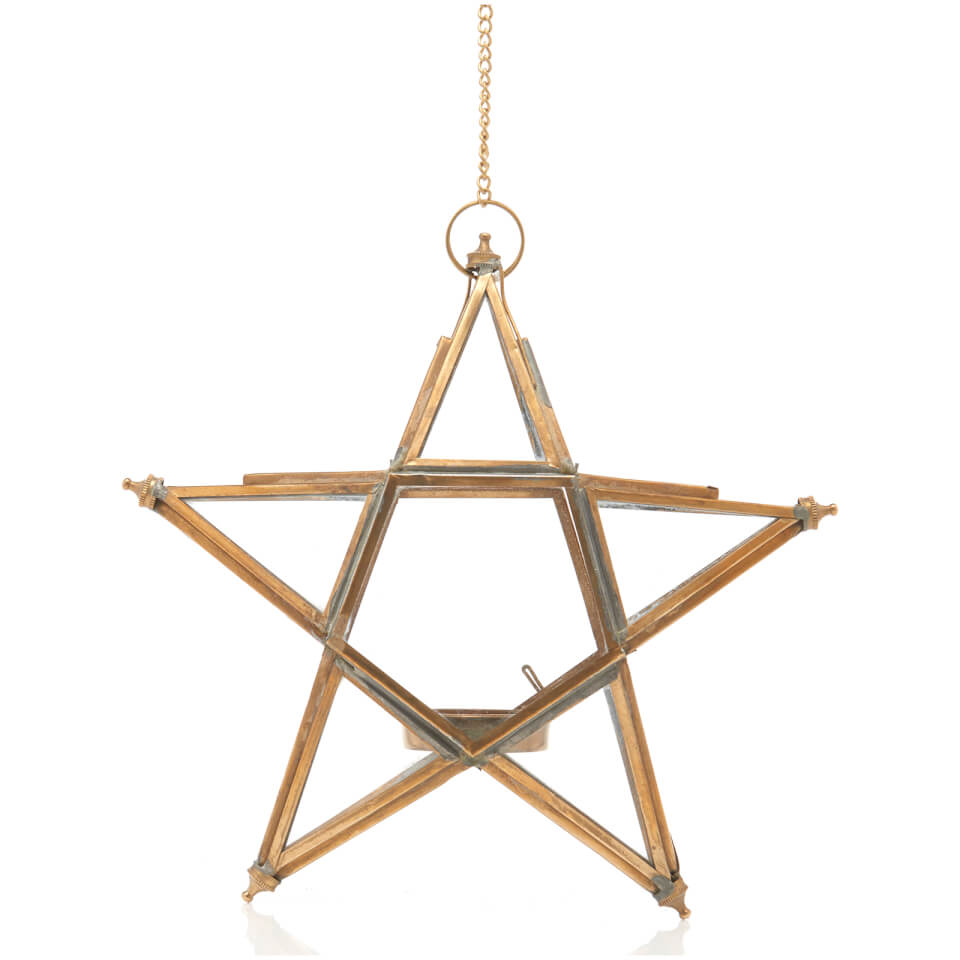 nkuku-small-glass-hanging-star-antique-brass