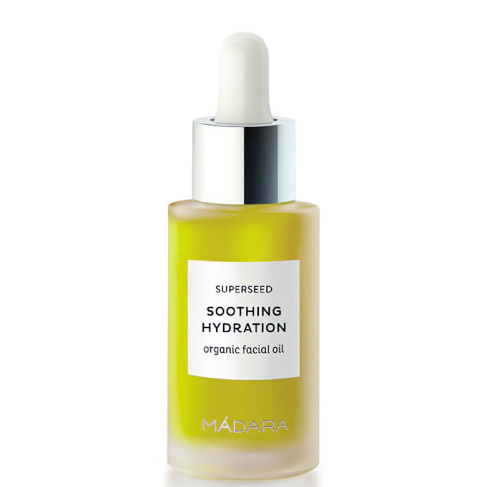 M+n++dara Superseed Soothing Hydration Organic Facial Oil 30ml