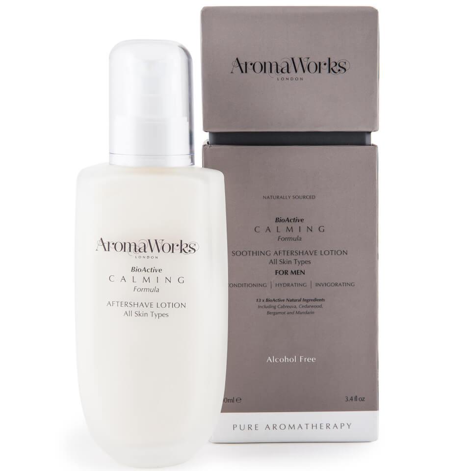 aromaworks men\u0027s calming aftershave lotion 100ml beautyexpert  Gnstig Joop Cognac Sneakers Herren Online P 157 #18