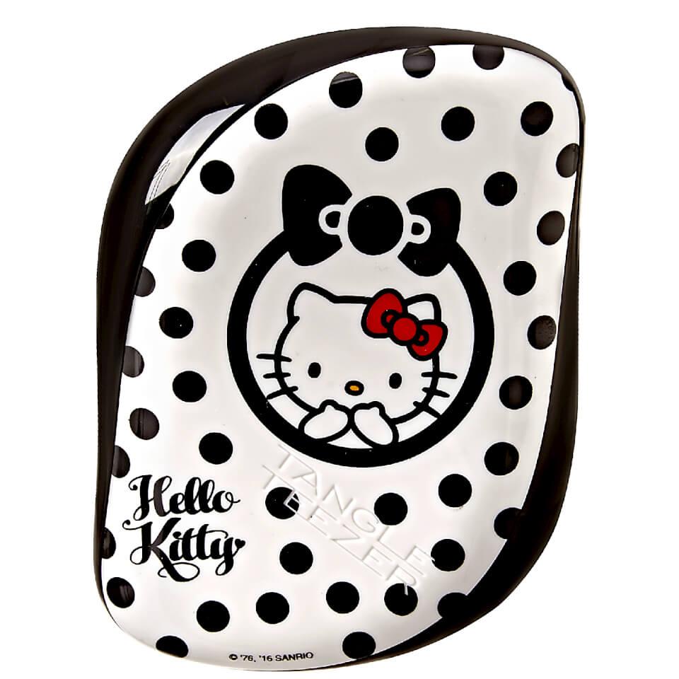 Tangle Teezer Compact Styler Hello Kitty Hair Brush Black-White