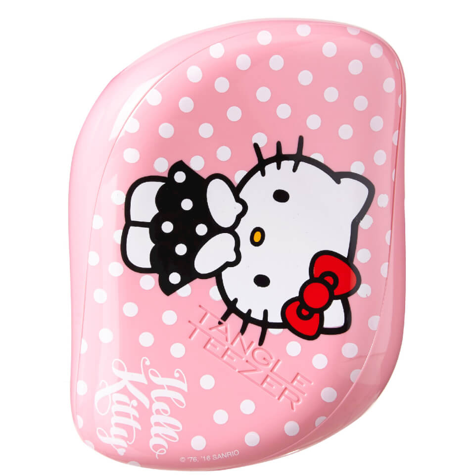 Tangle Teezer Compact Styler Hello Kitty Hair Brush Pink