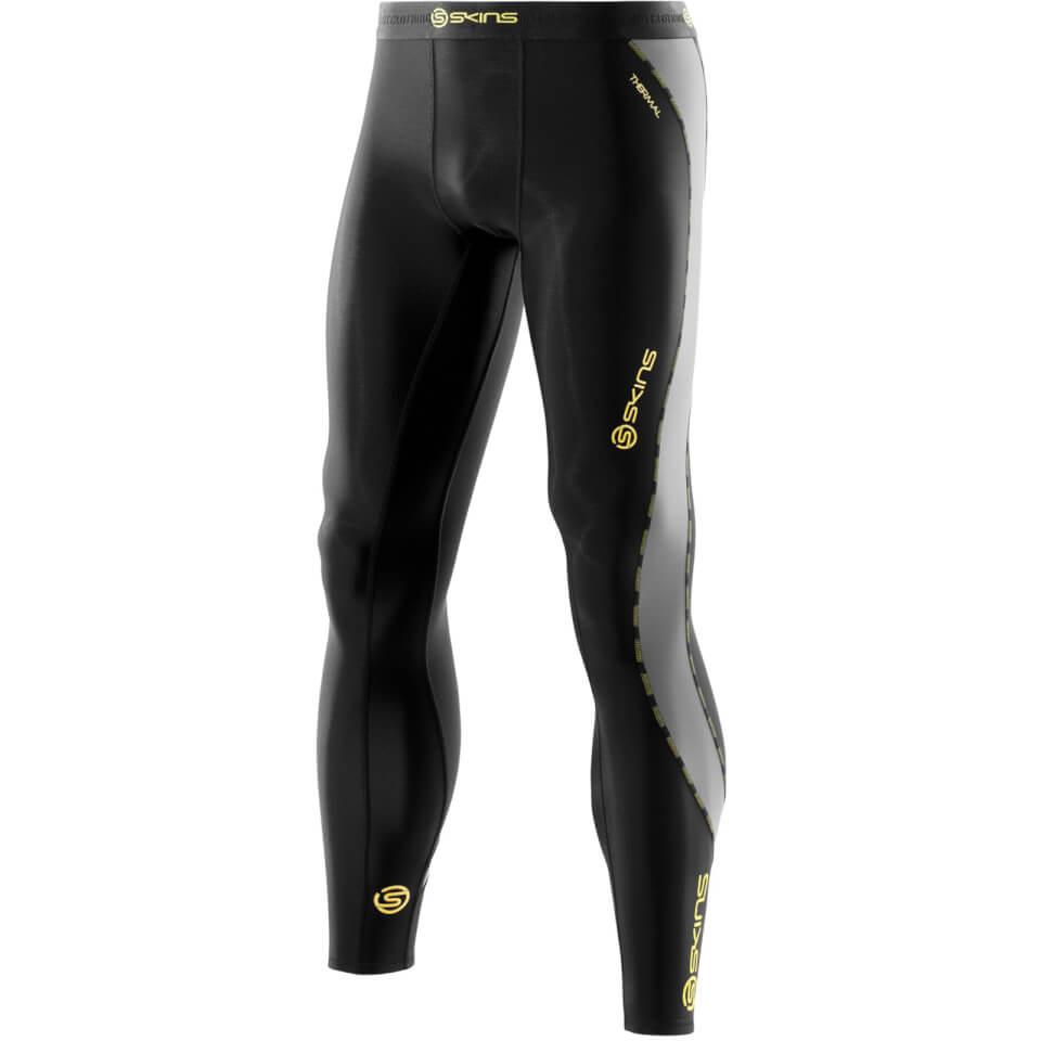 skins-dn-amic-men-thermal-long-tights-black-pewter-xl-black-grey
