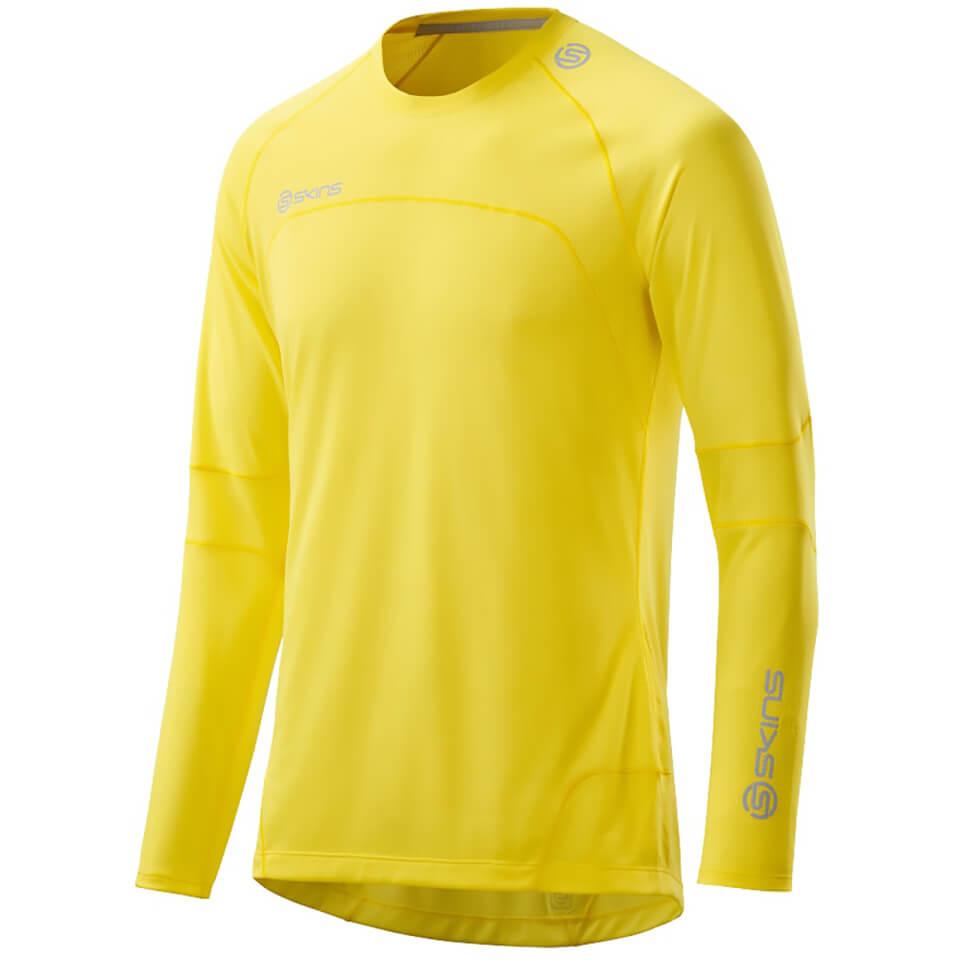skins-plus-men-terra-long-sleeve-top-citron-s