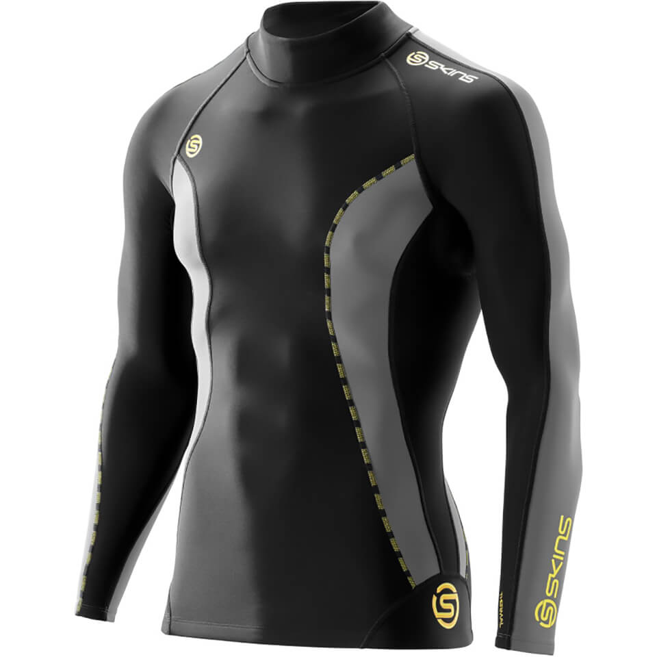 skins-dn-amic-men-thermal-long-sleeve-mock-neck-top-black-pewter-s-black-grey