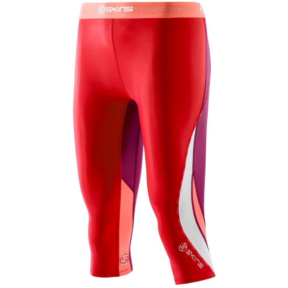 skins-dn-amic-women-capri-tights-rossa-xs