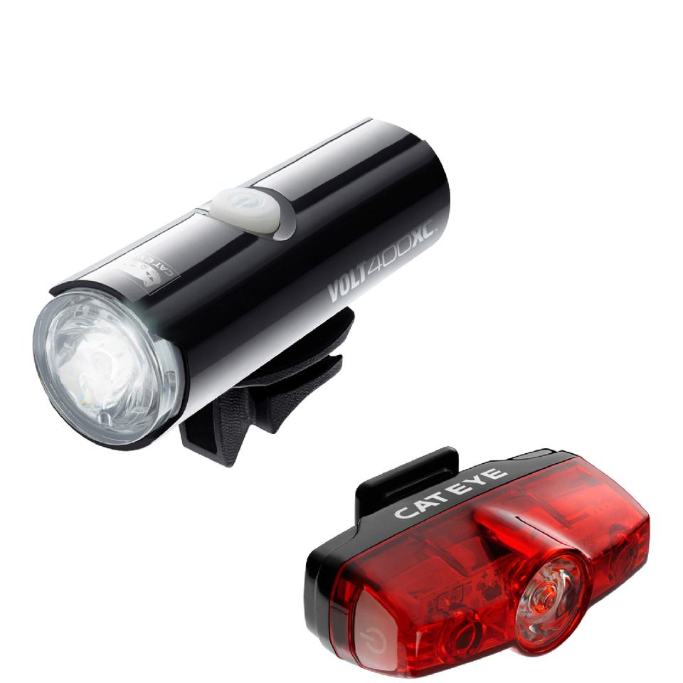 cateye-volt-400-xcrapid-mini-light-set