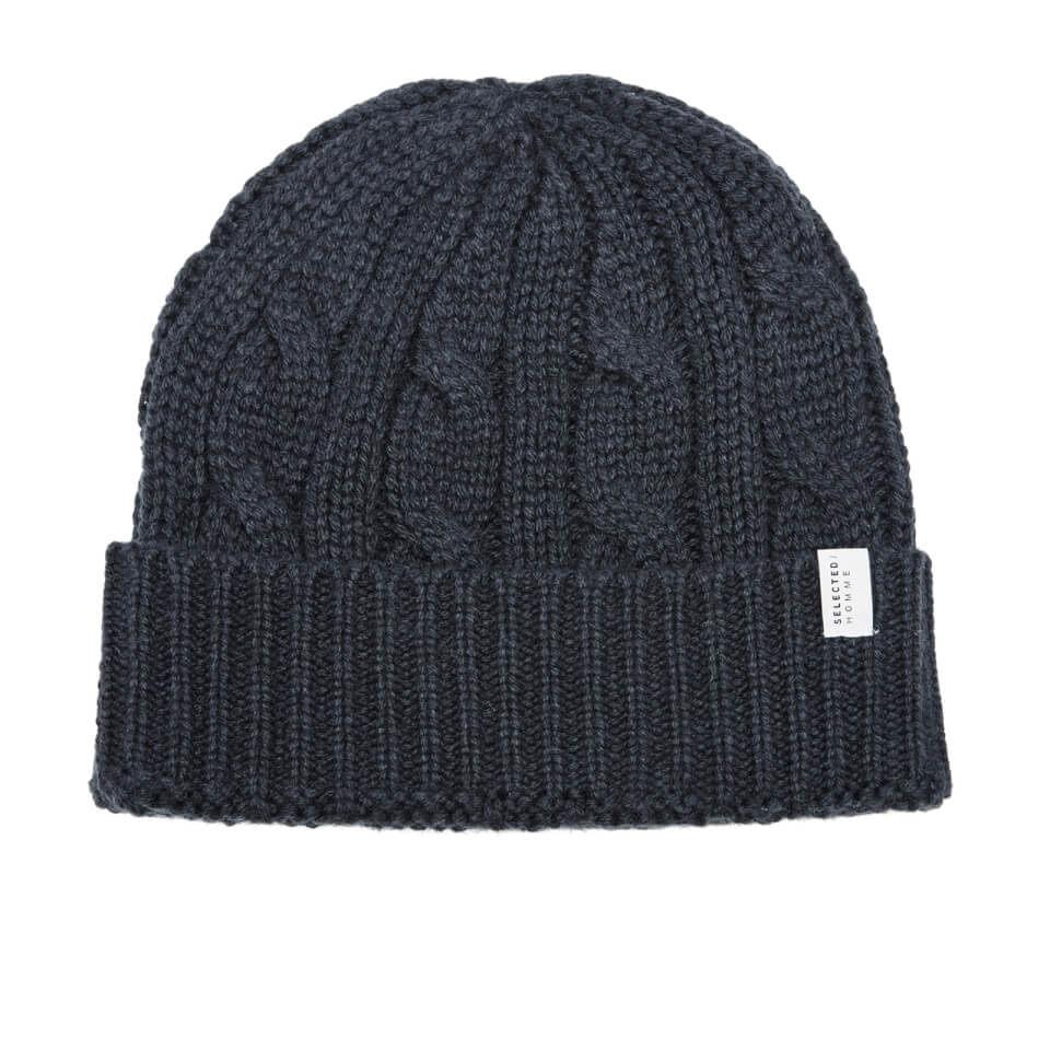 selected-homme-men-croft-beanie-dark-navy