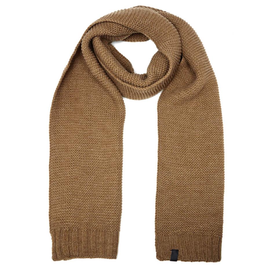 selected-homme-men-grit-scarf-otter