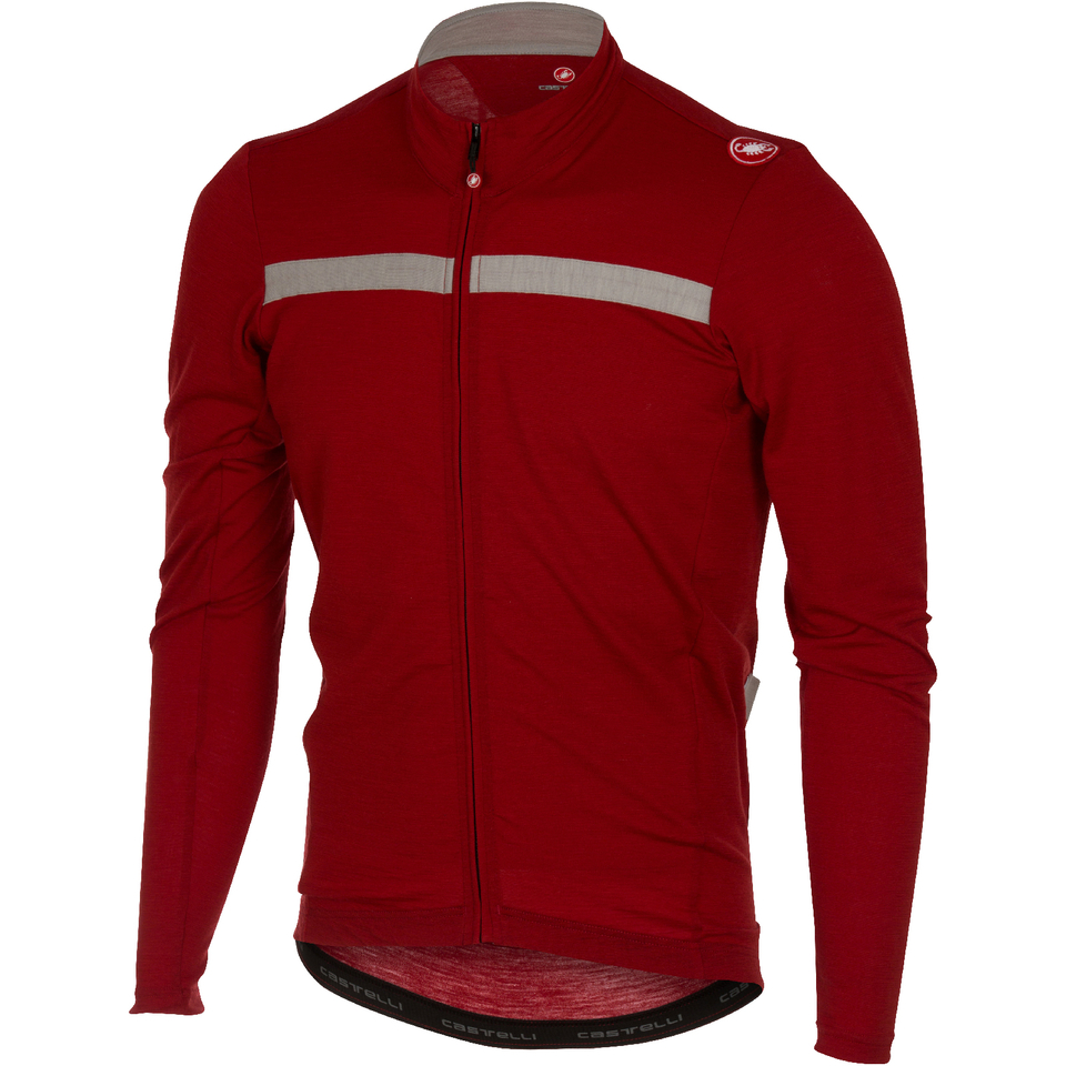 castelli-costante-long-sleeve-jersey-red-grey-s