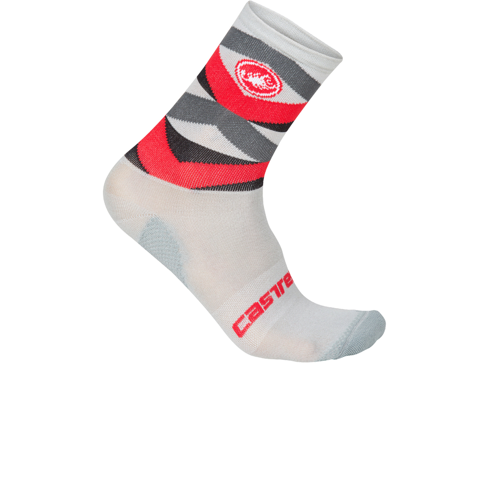 castelli-fatto-12-cycling-socks-redgrey-s-m
