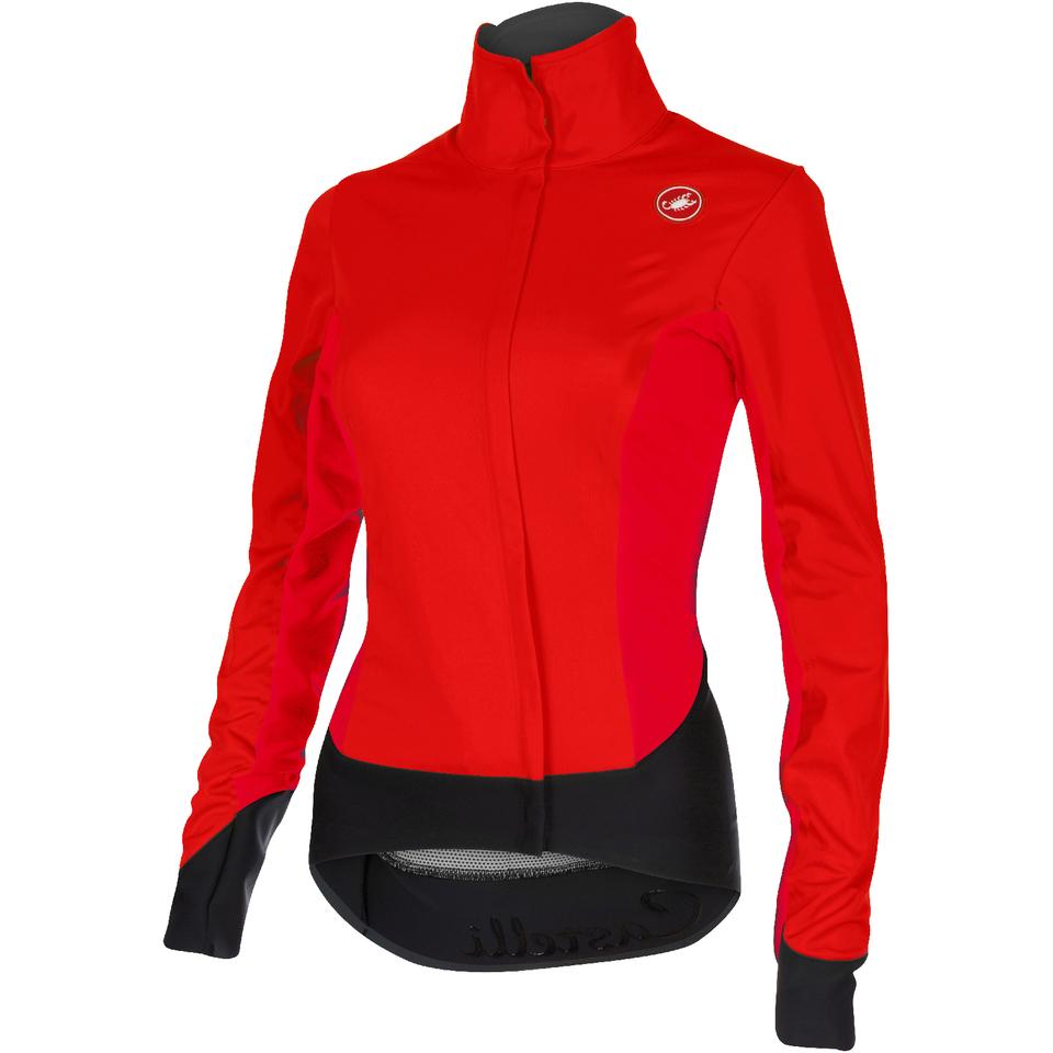 castelli-women-alpha-jacket-red-black-s