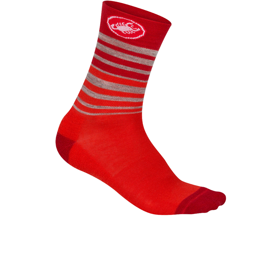 castelli-righina-13-cycling-socks-red-s-m