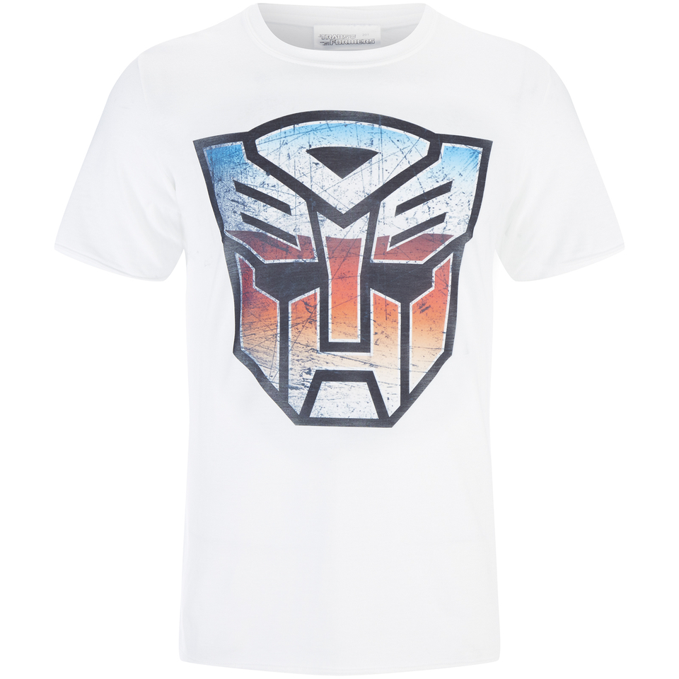 Transformers Men's Transformers Multi Emblem T Shirt Weiß XXL Weiß