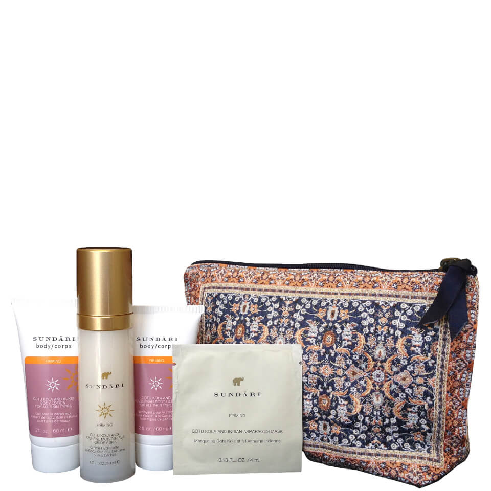 Sundari Beauty Bag With Anti-Aging Firming Skin Care (Worth $140.00) ShopFest Money Saver